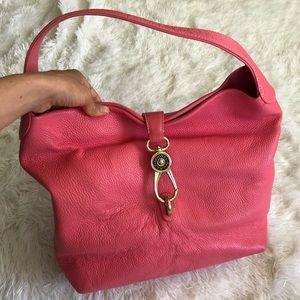 Dooney & Bourke leather over the shoulder purse